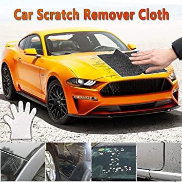 Como reparar pequeños arañazos del carro
