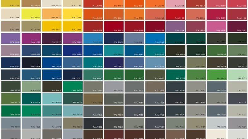 Donde esta el codigo de color de un carro